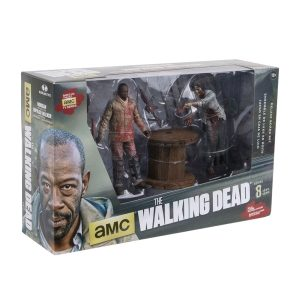 The Walking Dead - Morgan with Impaled Walker