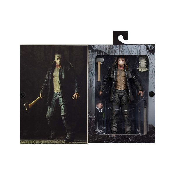"""NEC39720 Friday the 13th Jason Ultimate 7 Figure 3 600x600 - Friday the 13th (2009) - Jason Voorhees Ultimate 17.5cm(7"""") Action Figure"""