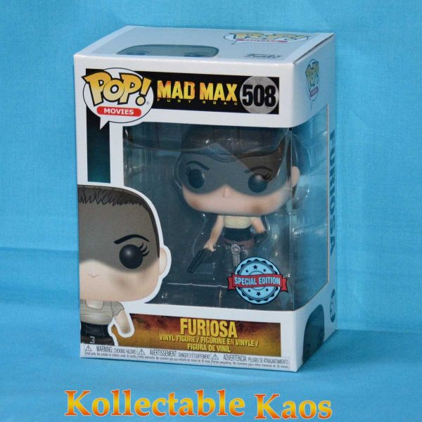 Mad Max: Fury Road - Furiosa with Missing Arm Pop