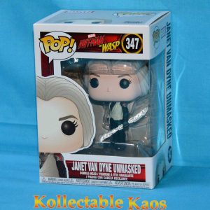Ant-Man and the Wasp - Janet Van Dyne Unmasked Pop! Vinyl Figure (RS) #347