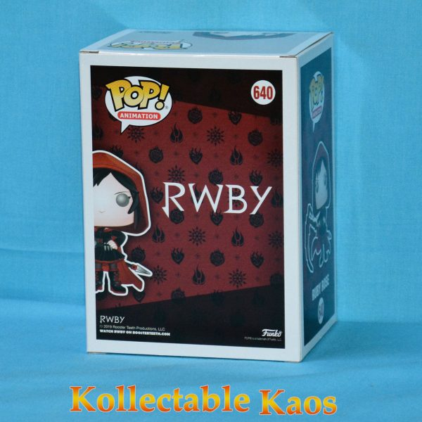 2019 SDCC SCE - RWBY - Ruby Rose with Hood Pop