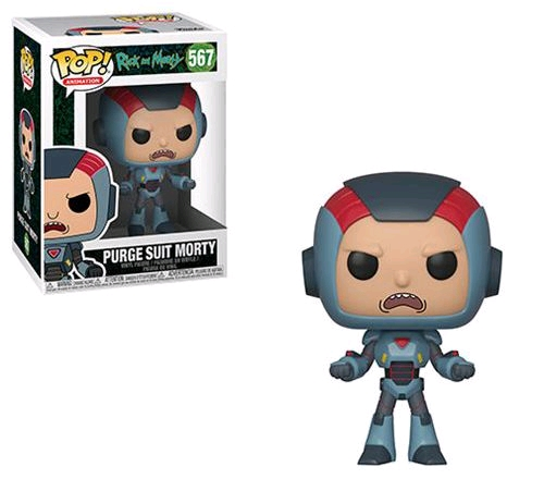 Rick and Morty - Morty in Purge Suit Pop