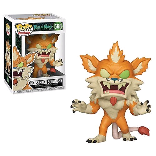 Rick and Morty - Berserker Squanchy Pop