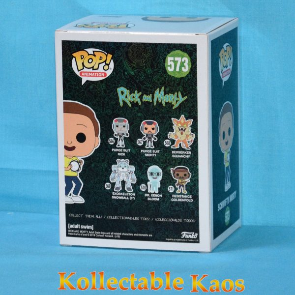 Rick and Morty - Get Schwifty Morty Pop