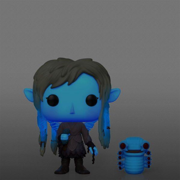 The Dark Crystal: Age Of Resistance - Deet with Baby Nurlock Blue Glow in the Dark Pop