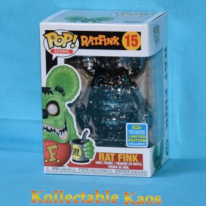 2019 SDCC SCE - Rat Fink - Rat Fink Grey Chrome Pop