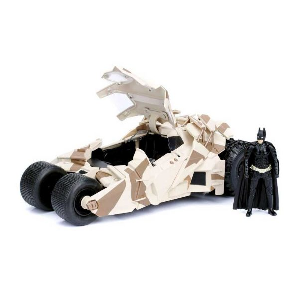 1:24 Jada - 2008 The Dark Knight Batmobile w/Batman Figure
