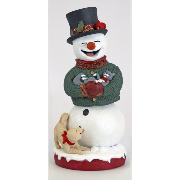 Bobblehead - Snowman with Bobbling Hips