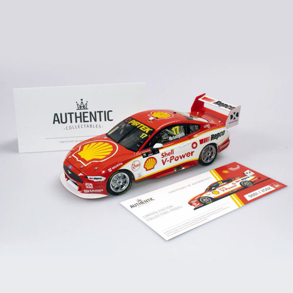 1:18 2019 Ford Mustang GT Supercar - Shell V-Power Racing Team #17 Season Car - Scott McLaughlin