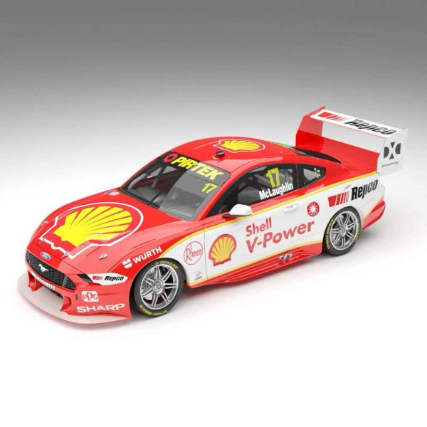 1:18 Shell V-Power Racing Team #17 Ford Mustang GT Supercar