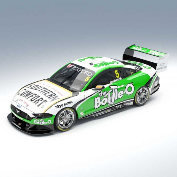 1:18 The Bottle-O Racing Team #5 Ford Mustang GT Supercar