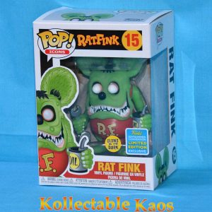 2019 SDCC SCE - Rat Fink - Rat Fink GITD Pop
