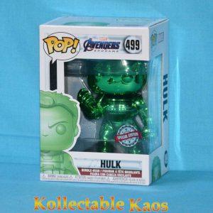 Avengers 4: Endgame - Hulk with Nano Gauntlet Green Chrome Pop