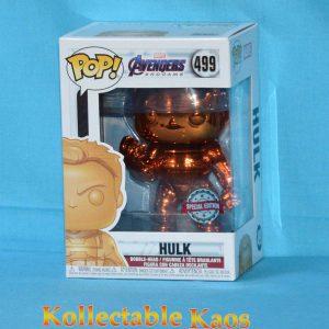 Avengers 4: Endgame - Hulk with Nano Gauntlet Orange Chrome Pop