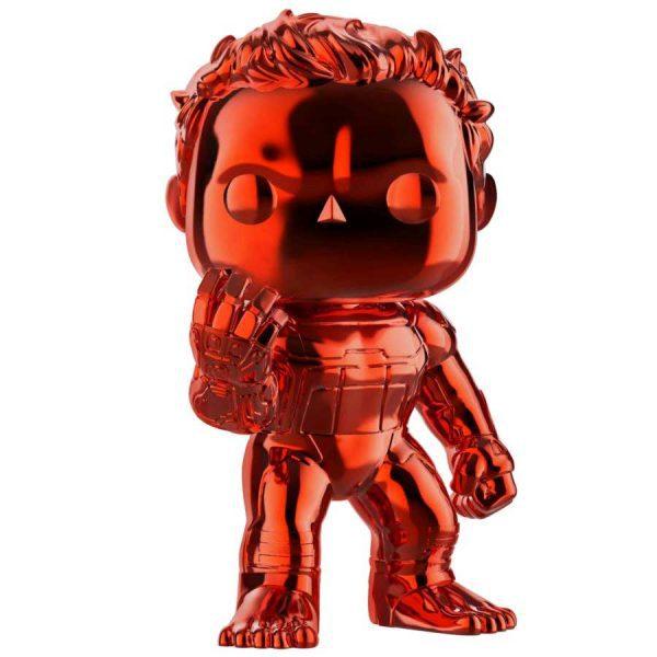 Avengers 4: Endgame - Hulk with Nano Gauntlet Red Chrome Pop