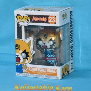 Aggretsuko - Aggretsuko Rage Metallic Pop