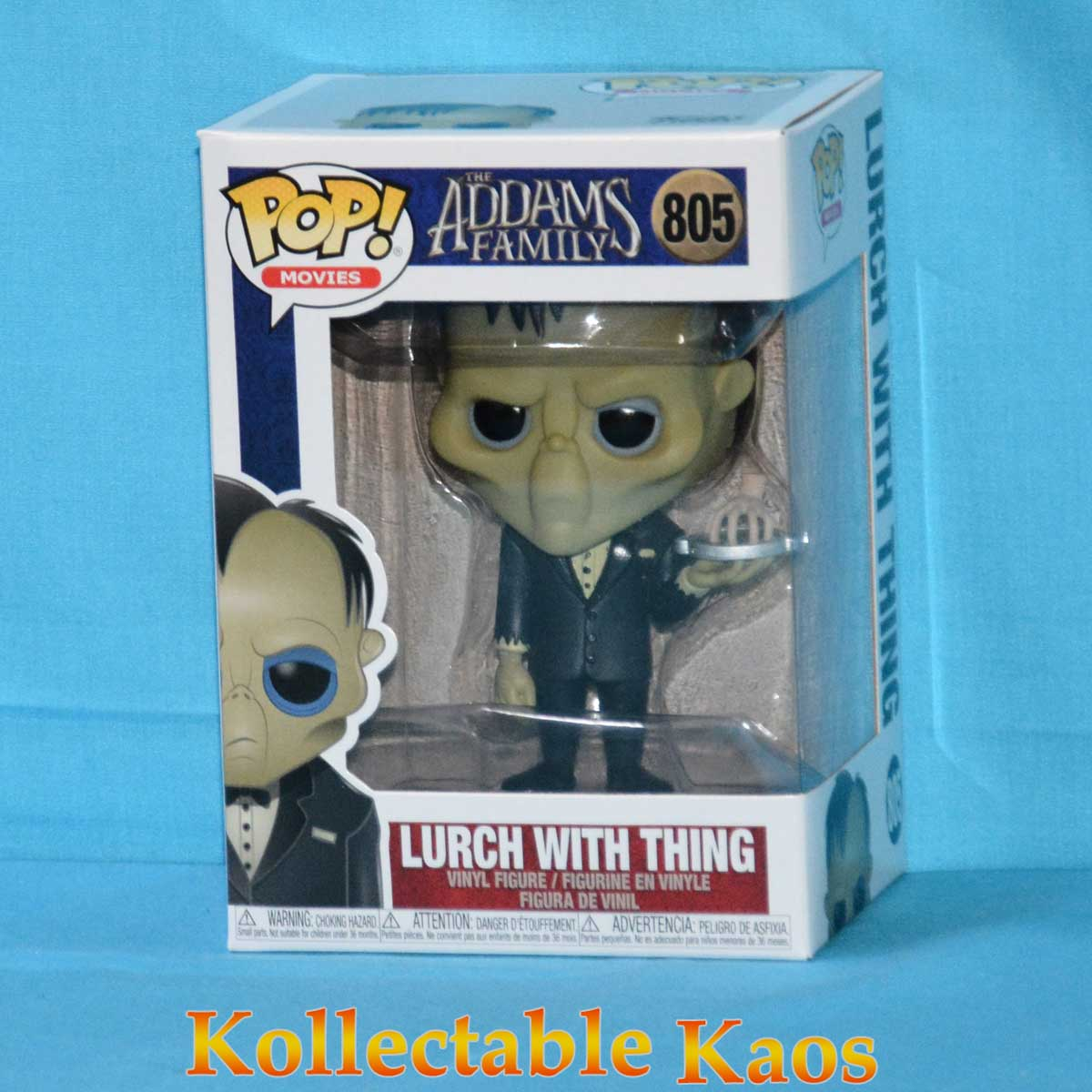 The Addams Family Lurch with Thing Pop Movies Figure de Vinyle 805