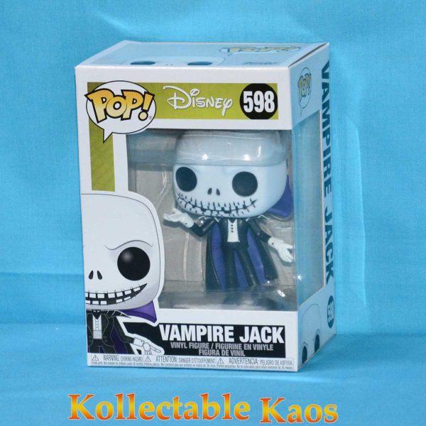 The Nightmare Before Christmas - Vampire Jack Pop