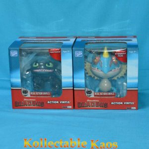 """How To Train Your Dragon - Dragons 6-7"""" Action Vinyls - Toothless and Stormfly Racing Stripes"""