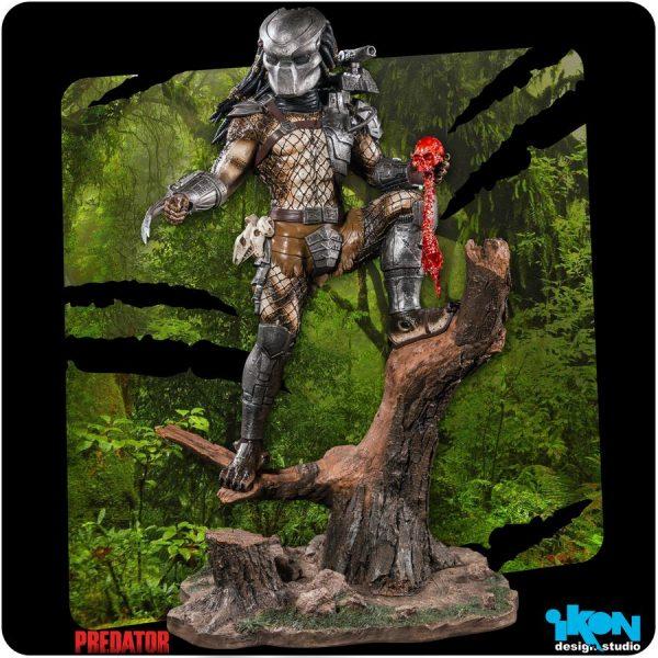 Predator - Predator 1:6 Scale Statue with Alternative Portrait