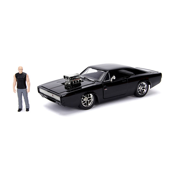 1:24 Jada - Dom with 1970 Dodge Charger - Fast n Furious