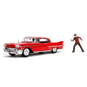 1:24 Jada - A Nightmare on Elm St - 1958 Cadillac Series 62