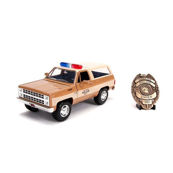 1:24 Jada - Stranger Things - 1980 Chevy K5 Blazer