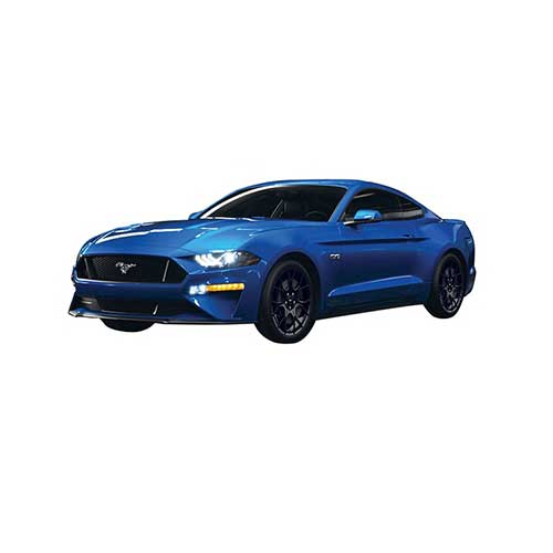 1:24 Motor Max - 2018 Ford Mustang GT - Blue
