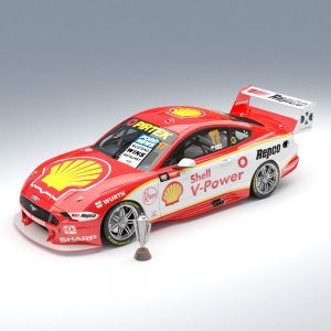1:18 Shell V-Power Racing Team #17 Ford Mustang GT Supercar 2019 Bathurst Winner