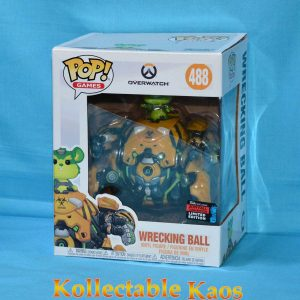 2019 NYCC FCE - Overwatch - Toxic Wrecking Ball 15cm Pop! Vinyl Figure