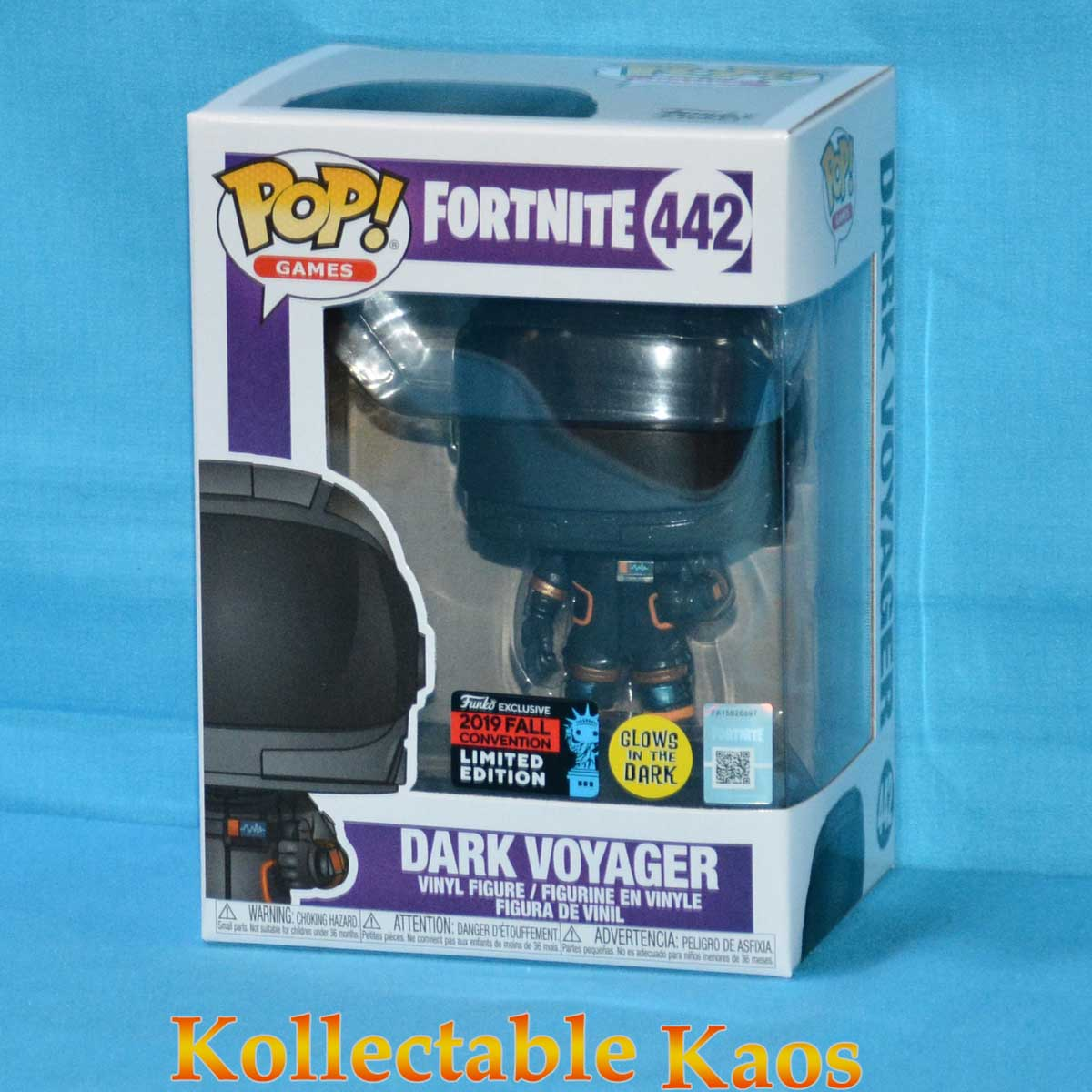 Vinyl Dark Voyager Pop Fortnite