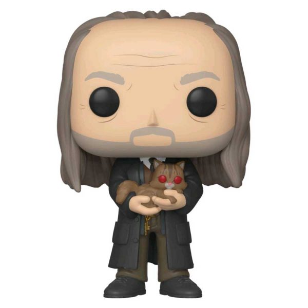 2019 NYCC FCE - Harry Potter - Argus Filch with Mrs. Norris Yule Ball Pop! Vinyl Figure