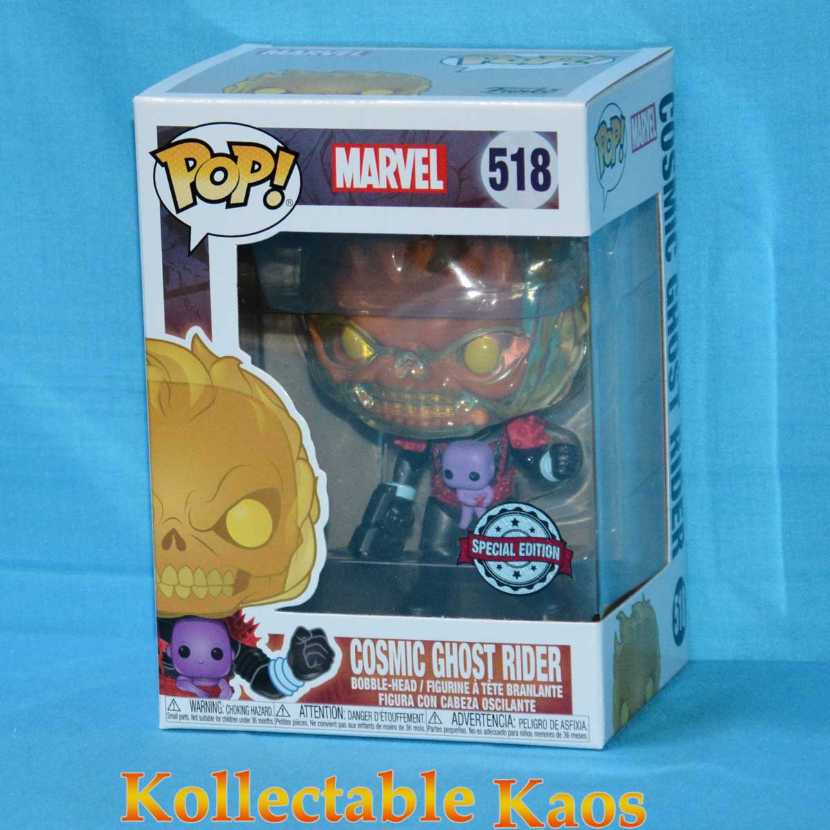 Cosmic Ghost Rider Funko Pop Vinyl Marvel