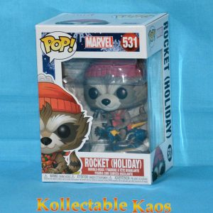 Guardians Of The Galaxy - Rocket Raccoon Christmas Holiday Pop! Vinyl Figure