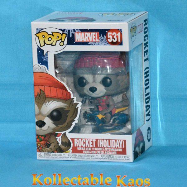 Guardians Of The Galaxy - Rocket Raccoon Christmas Holiday Pop! Vinyl Figure