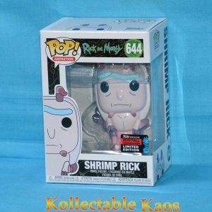 2019 NYCC FCE - Rick and Morty - Shrimp Rick Pop! Vinyl Figure