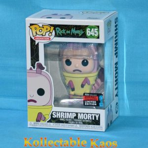 2019 NYCC FCE - Rick and Morty - Shrimp Morty Pop! Vinyl Figure