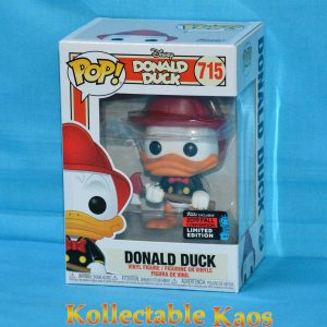 2019 NYCC FCE - Donald Duck - Donald Duck Firefighter Pop! Vinyl Figure