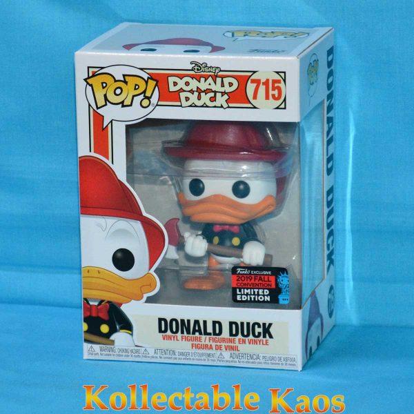 2019 NYCC FCE - Donald Duck - Donald Duck Firefighter Pop! Vinyl Figure