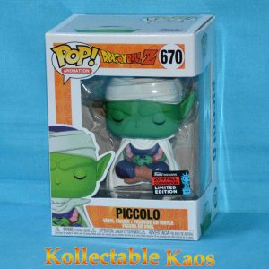 Dragon Ball Z - Piccolo Lotus Position Pop! Vinyl Figure