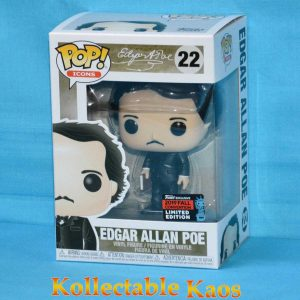 2019 NYCC FCE - Edgar Allan Poe with Book Pop! Vinyl Figure