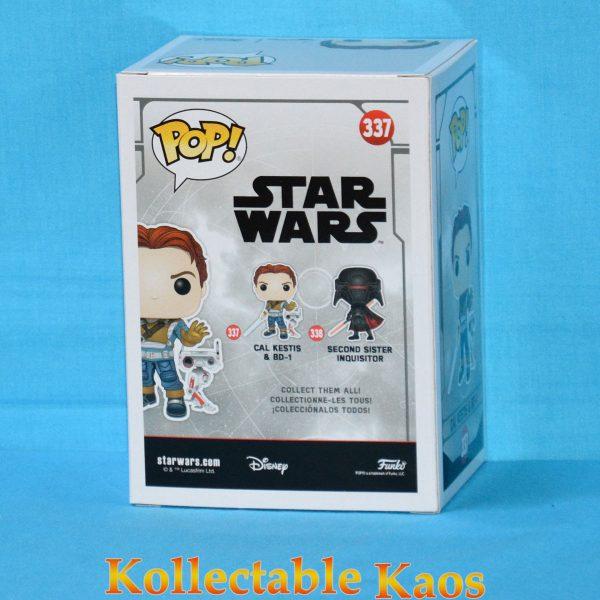 Star Wars Jedi: Fallen Order - Cal Kestis with BD-1 Pop! Vinyl Figure