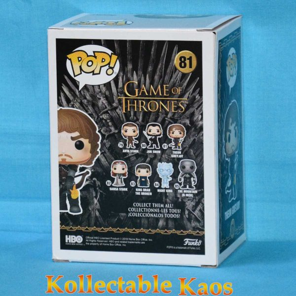 Game of Thrones - Theon with Flaming Arrows Pop! Vinyl Figure #81