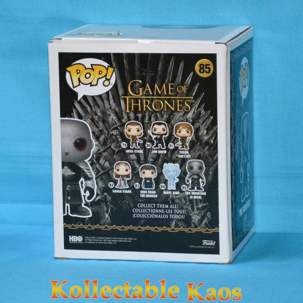 Game of Thrones - The Mountain Unmasked 15cm Pop! Vinyl Figure