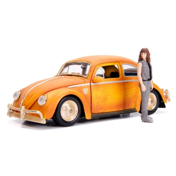 1:24 Jada - Transformers - 1971 Volkswagon Beetle Bumblebee Hollywood Ride