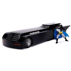 1:24 Jada - Batman: The Animated Series - Batmobile with Figure Hollywood Ride