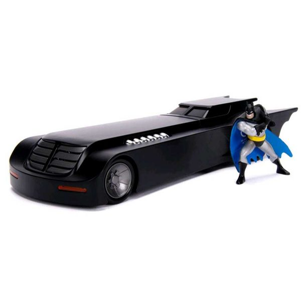1:24 Jada - Batman: The Animated Series - Batmobile with Figure Hollywood Ride