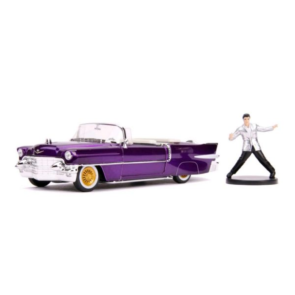 1:24 Jada - Elvis - 1956 Cadillac El Dorado with Figure Hollywood Ride