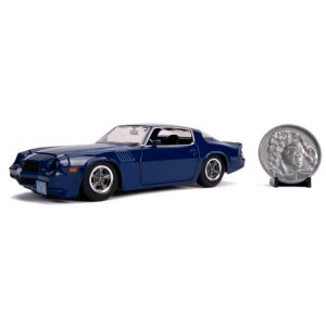 1:24 Jada - Stranger Things - 1979 Chevy Camero Z28 Hollywood Ride