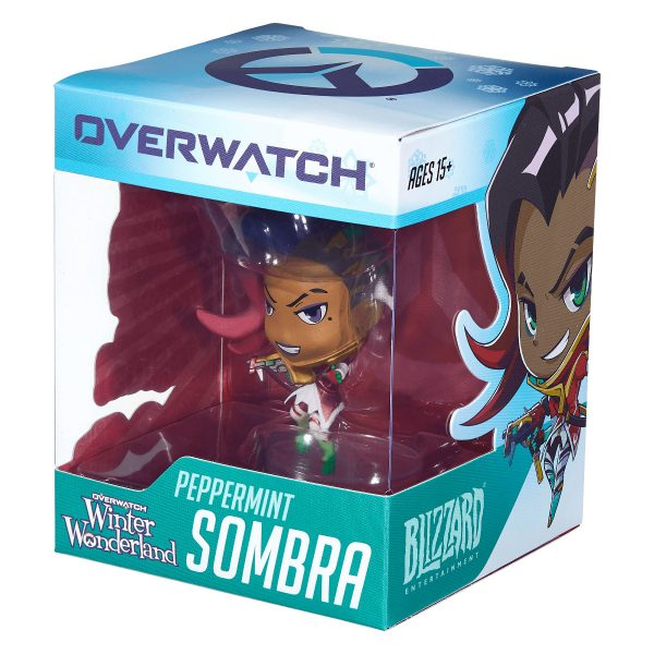 Overwatch - Cute But Deadly - Peppermint Sombra Figure